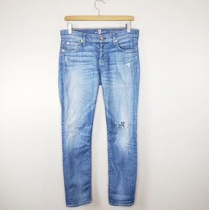 7FAM | Josefina Skinny Boyfriend Jeans